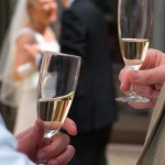 toronto wedding champagne